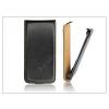 Haffner Slim Flip bőrtok - Sony Xperia TX (LT29i) - fekete