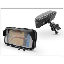 Haffner Univerzális kerékpárra/motorkerékpárra szerelhető, vízálló telefontartó napellenzővel - Extreme 155-Shield tok és táska