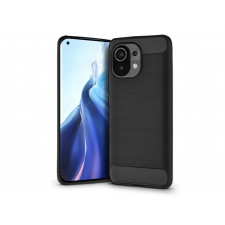 Haffner Xiaomi Mi 11 szilikon hátlap - Carbon - fekete tok és táska