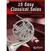 HAL LEONARD 15 Easy Classical Solos Horn and Piano
