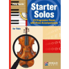 HAL LEONARD Starter Solos Viola and Piano