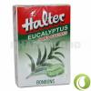 HALTER Cukormentes Cukorka Eukalyptus 40 g