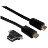 Hama 122227 High Sspeed HDMi kábel, ethernetl + adapter