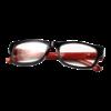 Hama 96267 olvasószemüveg, műanyag, +2 dpt, fekete/piros