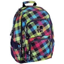 Hama Kereskedelmi Kft. Hama iskola hátizsák all out /Rainbow/ színes kockás iskolatáska