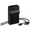 Hama Travel USB Canon LP-E17 akkumulátor töltő