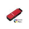 Hama USB 3.0 kártyaolvasó piros /123902/