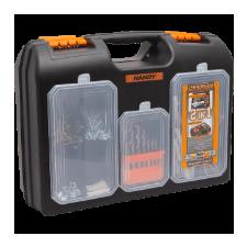 """Handy 2 az 1-ben műanyag fúró + alkatrész tároló táska 15.7"""""""" - 400x300x155 mm szerszám kiegészítő"""