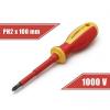 Handy Tools Handy csavarhúzó (10569), PH2, 100mm, 1000V-ig szigetelt, mágneses fej