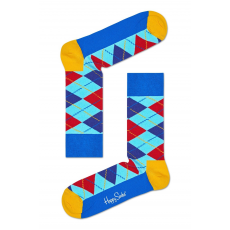 Happy Socks - Zokni Argyle - kék - 1172234-kék