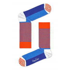 Happy Socks - Zokni Half Stripe - kék - 1183504-kék