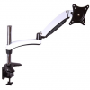 HARMANTRADE lra15 fekete-fehér rugós karos monitor asztali állvány