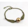 Harry Potter stílusú aranycikesz karkötő