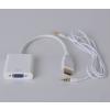 HDMI to VGA adapter átalakító konverter kábel box + hang