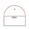 HE-80/180-AH asztaltoldat (Félköríves asztaltoldat csőlábbal)