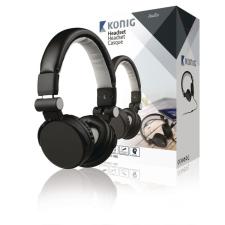 Headset Fülre Illeszkedő 3.5 mm Beépített Mikrofon Fekete headset