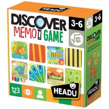 Headu Memória Játék felfedezés (IT20713) társasjáték