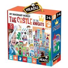 Headu Mese Puzzle-Lovagi kastély HEADU puzzle, kirakós