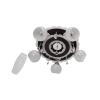 Helam Spotlámpa ARONA 5xE27/60W/230V+LED fekete