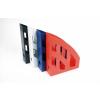 HELIT Iratpapucs, műanyag, 75 mm, HELIT, piros
