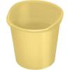 HELIT Papírkosár, 13 liter, HELIT the joy, sárga (INH2360417)