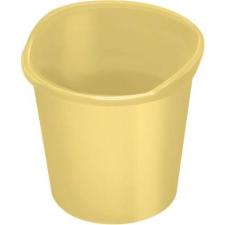 HELIT Papírkosár, 13 liter, HELIT the joy, sárga (INH2360417) szemetes