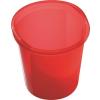 """HELIT Szemetes, 13 liter, HELIT """"Economy"""", áttetsző piros"""