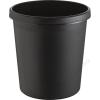 HELIT Szemetes, 18 liter, HELIT, fekete (INH6105895)