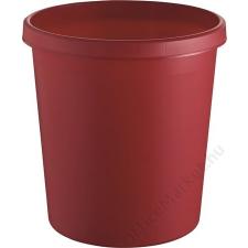 HELIT Szemetes, 18 liter, HELIT, piros (INH6105825) szemetes