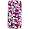 Hello Kitty Liberty lefelé nyíló bőrbevonatos fliptok Apple iPhone 5, 5S, SE-hez Pink Apple*