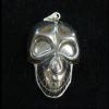 Hematit medál koponya