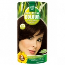 HennaPlus 3.44 sötét réz barna hajfesték hajfesték, színező