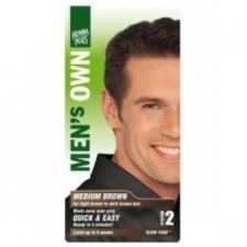 HennaPlus férfi középbarna hajfesték hajfesték, színező