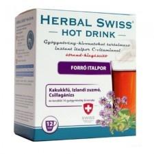 Herbal Swiss Hot Drink Italpor 12 db vitamin és táplálékkiegészítő