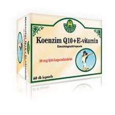 Herbária Koenzim Q10 + E-vitamin kapszula 60 db gyógyhatású készítmény