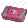 Herlitz kihajtható/klapnis tolltartó, Lovas/Power Horse, üres
