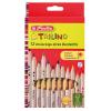 Herlitz Trilino háromszög alakú színes ceruza - 12 db
