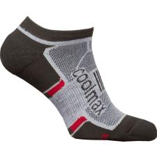 High Point Active 2.0 Invisible Socks fekete/piros / Zoknie: 39-42 női zokni
