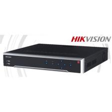Hikvision DS-7732NI-K4 NVR, 32 csatorna, 256Mbps rögzítési sávszélesség, H265, HDMI+VGA, 3x USB, 4x Sata, I/O biztonságtechnikai eszköz
