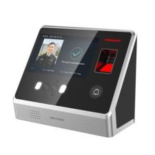 Hikvision DS-K1T605MF Arcfelismerő beléptető vezérlő terminál, Mifare kártyaolvasás, ujjnyomat olvasó biztonságtechnikai eszköz