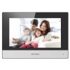 """Hikvision DS-KC001 Beltéri egység testhőmérséklet mérős beléptető terminálokhoz, 7"""" LCD, 1024x600 felbontás, Android"""