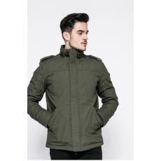 HILFIGER DENIM - Rövid kabát - sötét zöld