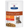Hill's Prescription Diet 24x85g Hill's Prescription Diet k/d Kidney Care macskatáp - csirke