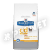 Hills PD Feline c/d Urinary Stress Reduced Calorie 8kg