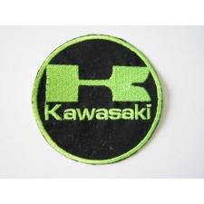 Hímzett Kawasaki logó ajándéktárgy