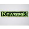 Hímzett Kawasaki logó 2
