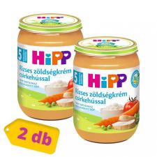 Hipp BIO rizses zöldségkrém csirkehússal, 5 hó+ (2x190 g) bébiétel
