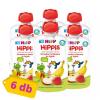 Hipp HiPPiS BIO gyümölcspép eper-banán almában, 4 hó+ (6x100 g)