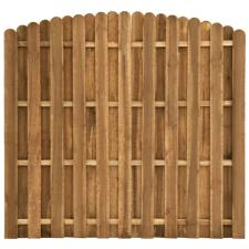 Hit & miss stílusú fenyőfa kerítéspanel 180 x (155-170) cm kerti dekoráció