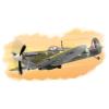 HobbyBoss Spitfire Mk Vb repülő makett HobbyBoss 80212
